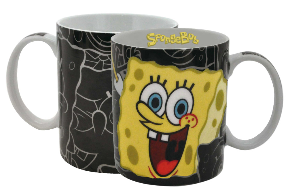 SpongeBob SquarePants Mug Black Bob