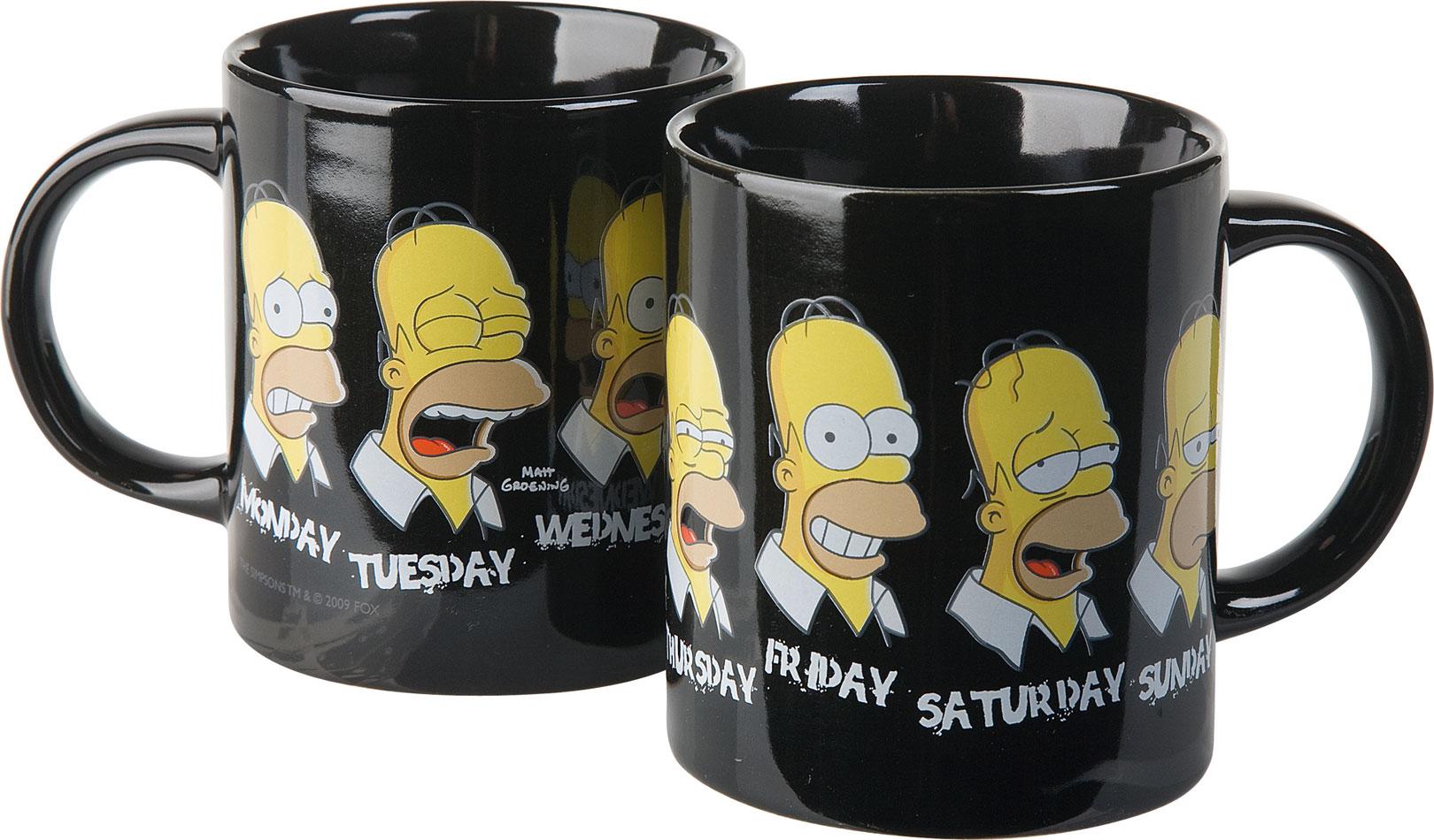 Simpsons Mug A Normal Week