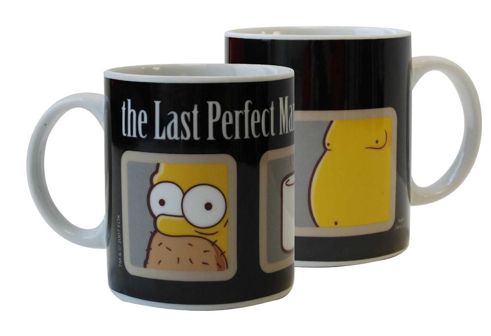 Simpsons Mug The Last Perfect Man