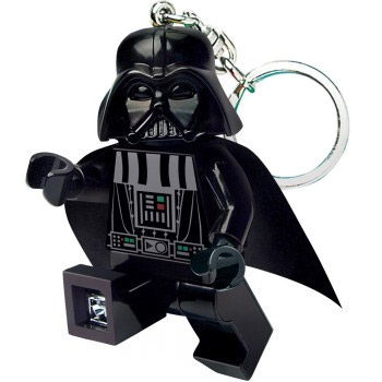 Lego Star Wars Mini-Flashlight with Keychains Darth Vader
