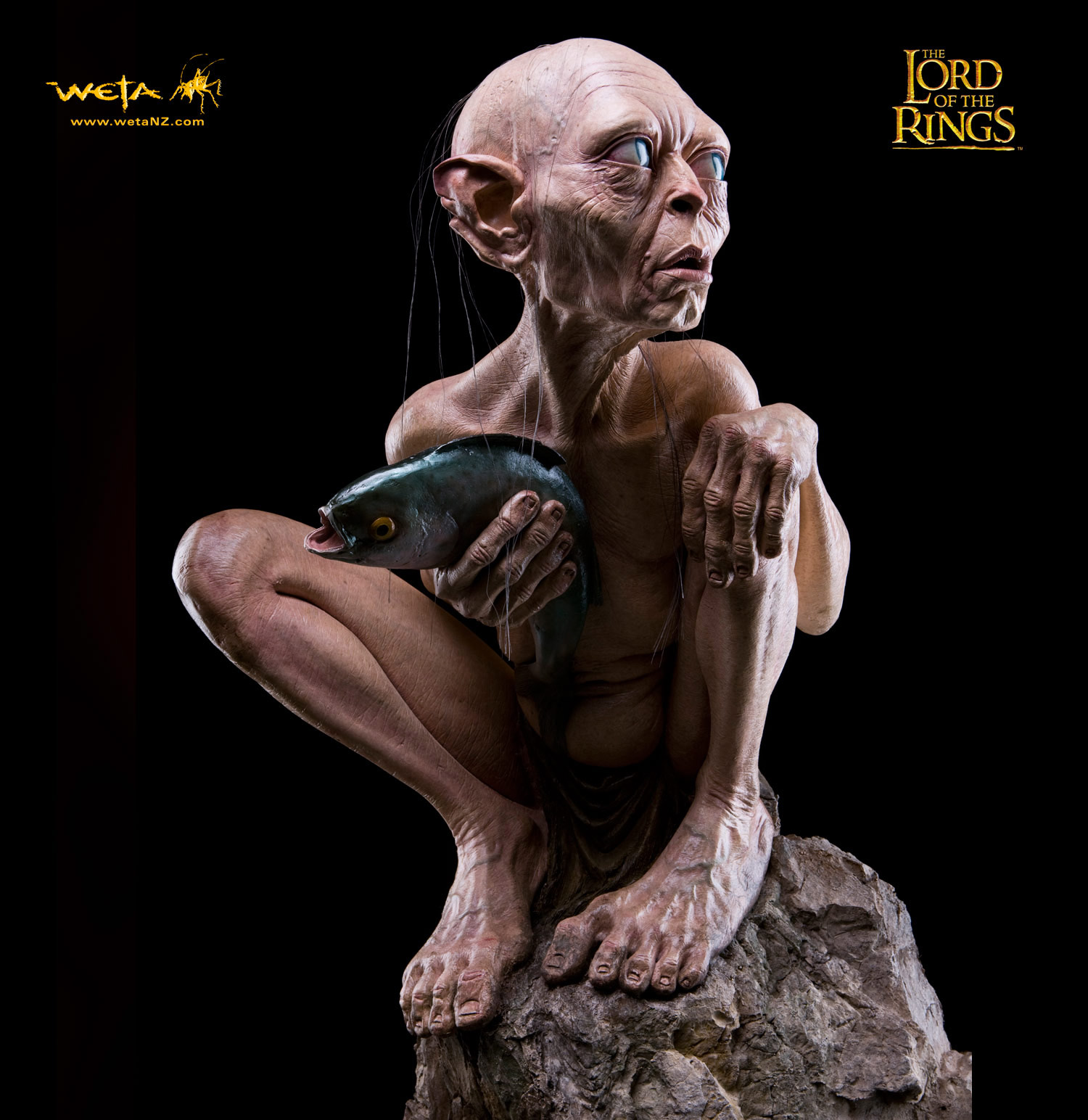 Lord of the Rings Life-Size Statue Gollum 140 cm