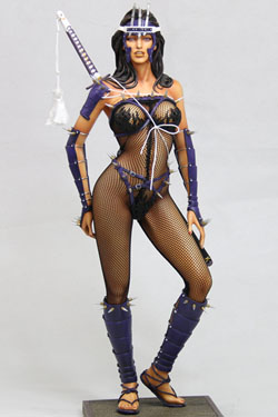 Fantasy Figure Gallery Statue 1/4 Lady Ninja Web Exclusive (Hajime Sorayama) 45 cm